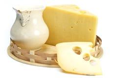 молоко сыра Стоковое Изображение RF