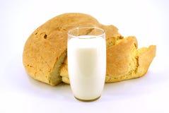 молоко хлеба Стоковая Фотография RF