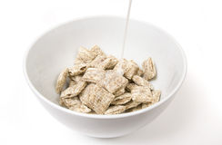 молоко хлопий для завтрака стоковые изображения rf