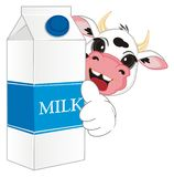 Молоко холодно бесплатная иллюстрация