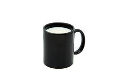 молоко чашки стоковые изображения