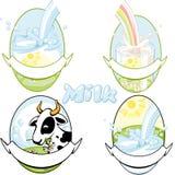 молоко 2 Стоковое Изображение