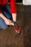 молоток зубила Стоковая Фотография