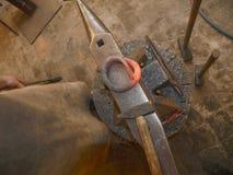 молоток наковальни стоковая фотография rf