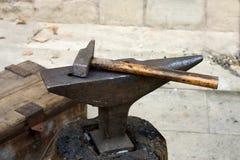 молоток наковальни Стоковые Фото