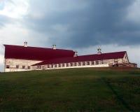 молочная ферма старая Стоковое фото RF