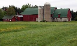 молочная ферма традиционная Стоковая Фотография