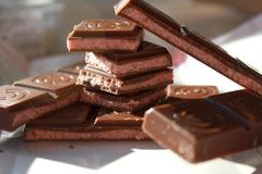Молочный шоколад Стоковое фото RF