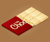 Молочный шоколад установил 1 Стоковые Фотографии RF
