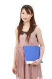 Молодая азиатская женщина дела Стоковое фото RF
