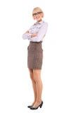 Молодая профессиональная женщина Стоковое Фото