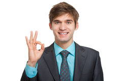 Молодой бизнесмен Стоковые Фотографии RF