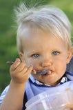 Молодой младенец Стоковая Фотография
