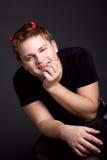 Молодой дьявол Стоковые Фотографии RF