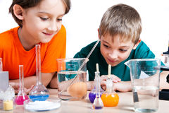 Молодые научные работники Стоковое фото RF