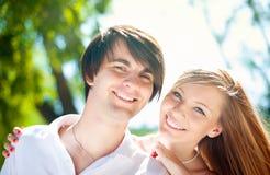 Молодые пары Стоковое Фото