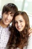 Молодые пары Стоковое фото RF