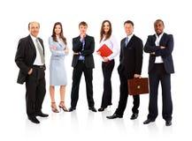 Молодые привлекательные бизнесмены Стоковые Фотографии RF
