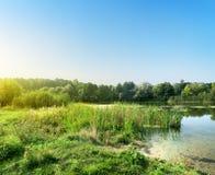 Молчаливое река стоковое изображение rf
