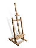 мольберт деревянный Стоковая Фотография