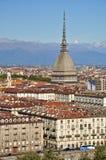 моль piedmont turin la Италии antonelliana стоковые изображения rf