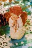 Моля ангел для рождества Стоковое фото RF