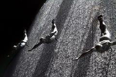 мол Дубай водолазов Стоковые Изображения RF