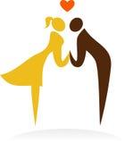 Моменты венчания - 1 Стоковое фото RF