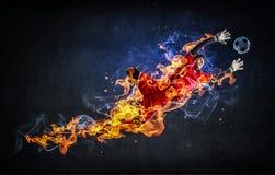Моменты игры самые горячие Стоковое Фото