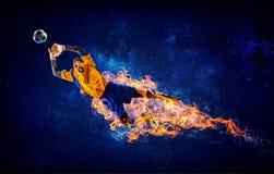 Моменты игры самые горячие стоковое фото rf