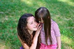 моменты семьи счастливые Стоковая Фотография