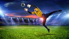 Моменты футбола самые лучшие Мультимедиа Стоковые Изображения