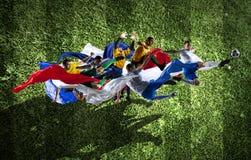 Моменты футбола самые лучшие Стоковые Фото