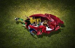 Моменты футбола самые лучшие стоковая фотография