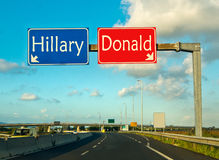 Момент выбора, козырь ot Клинтона Стоковая Фотография