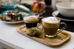 Момент Италия завтрака стоковое фото rf