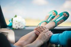 Момент свадьбы Стоковое Изображение RF