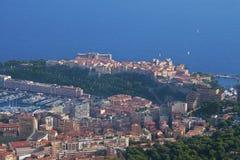 Монако сверху стоковые изображения