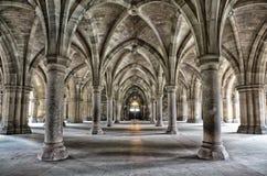 Монастыри университета Глазго Стоковая Фотография