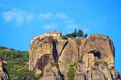 Монастыри Meteora в Греции стоковое фото