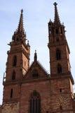 Монастырская церковь Базеля Стоковое Фото