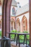 Монастырская церковь Базеля Стоковые Изображения