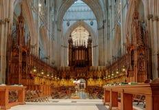 Монастырская церковь Йорка, Англия Стоковое Изображение