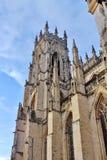 Монастырская церковь Йорка, Йорк, северный Йоркшир Стоковое Изображение RF