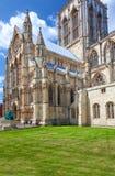 Монастырская церковь Йорка, северный Йоркшир, Англия Стоковое фото RF