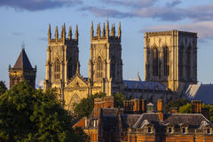 Монастырская церковь Йорка стоковая фотография rf
