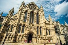 Монастырская церковь Йорка Стоковые Изображения RF