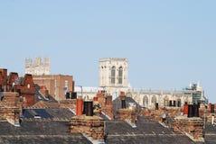 Монастырская церковь Йорк Стоковое Фото
