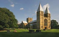 Монастырская церковь Southwell стоковое фото rf