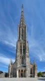 Монастырская церковь Ulm, Германия Стоковое Изображение RF